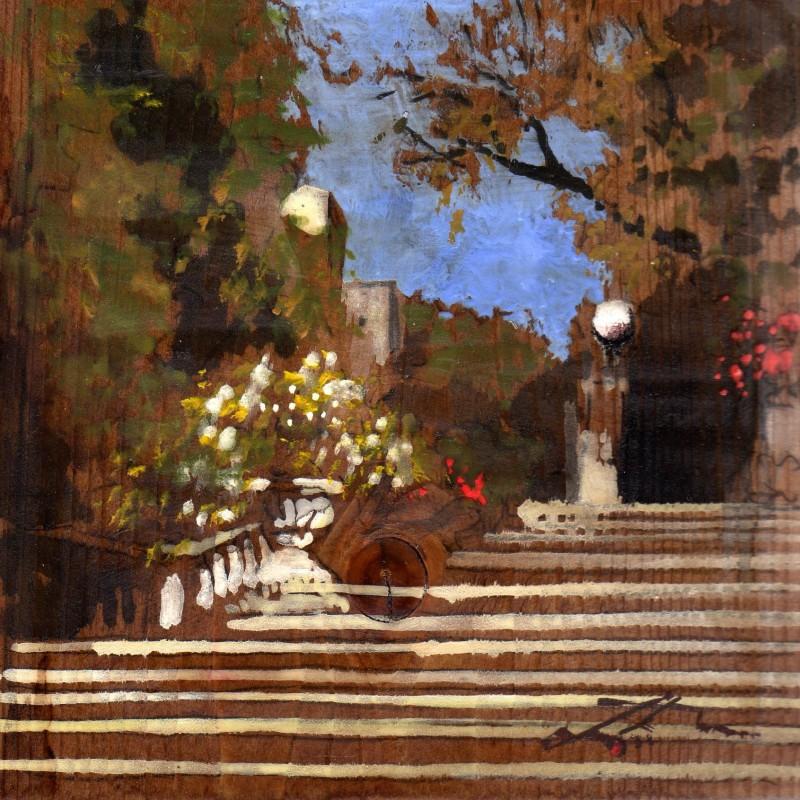 La scalinata di Castiglioncello