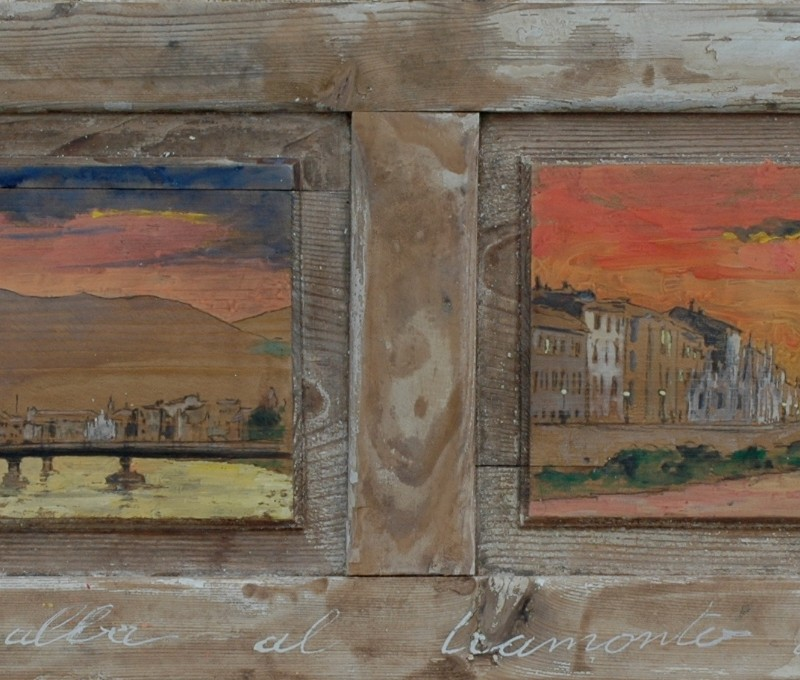 dall'alba al tramonto a Pisa