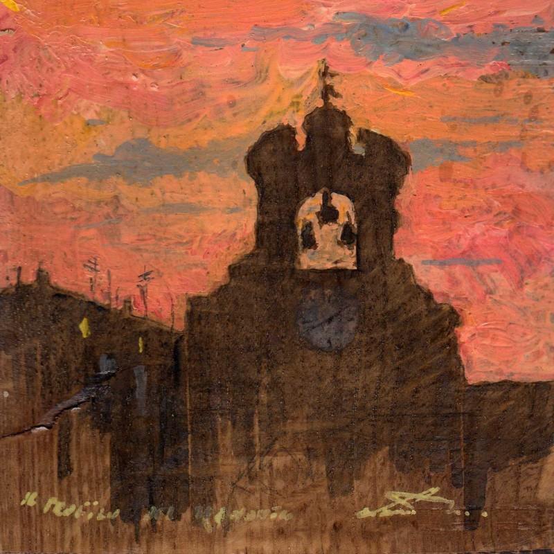 il profilo del tramonto