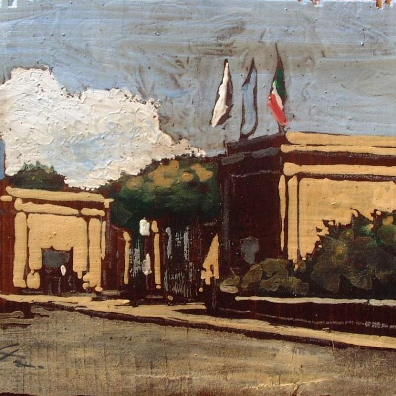 l'ingresso da viale italia