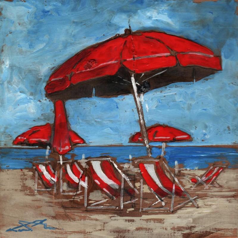 l'ombrellone rosso
