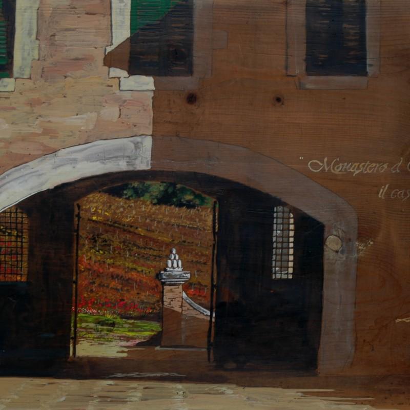 monastero d'ombrone il castello
