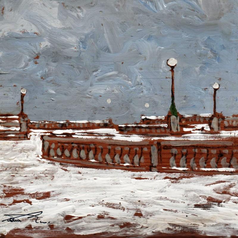 passeggiata bianca alla terrazza