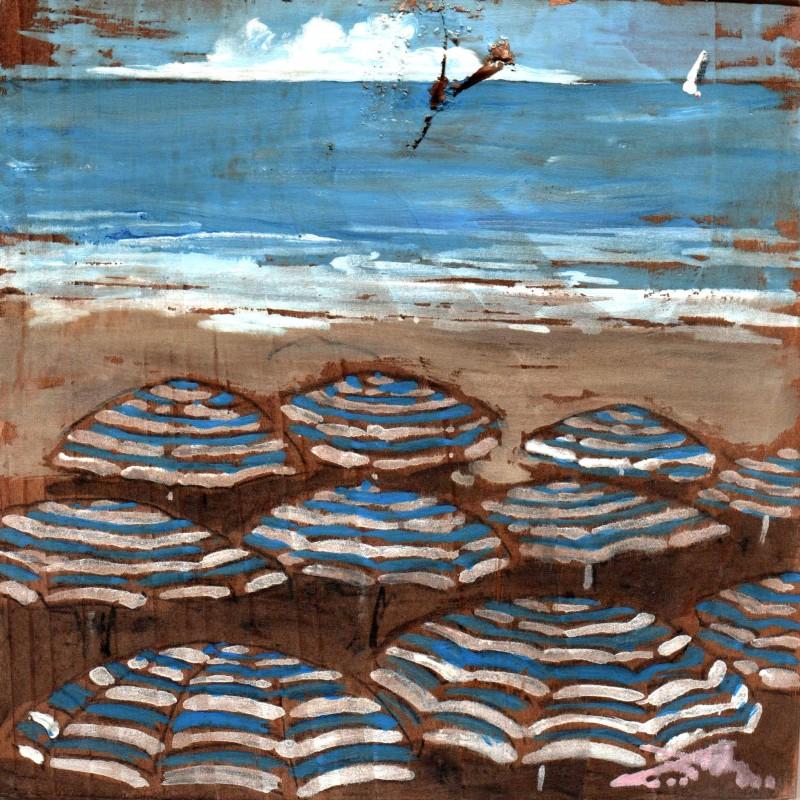 prateria di ombrelloni