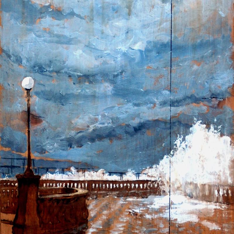 L'amico di Livorno,  tempera su tavola, cm. 84 x 47