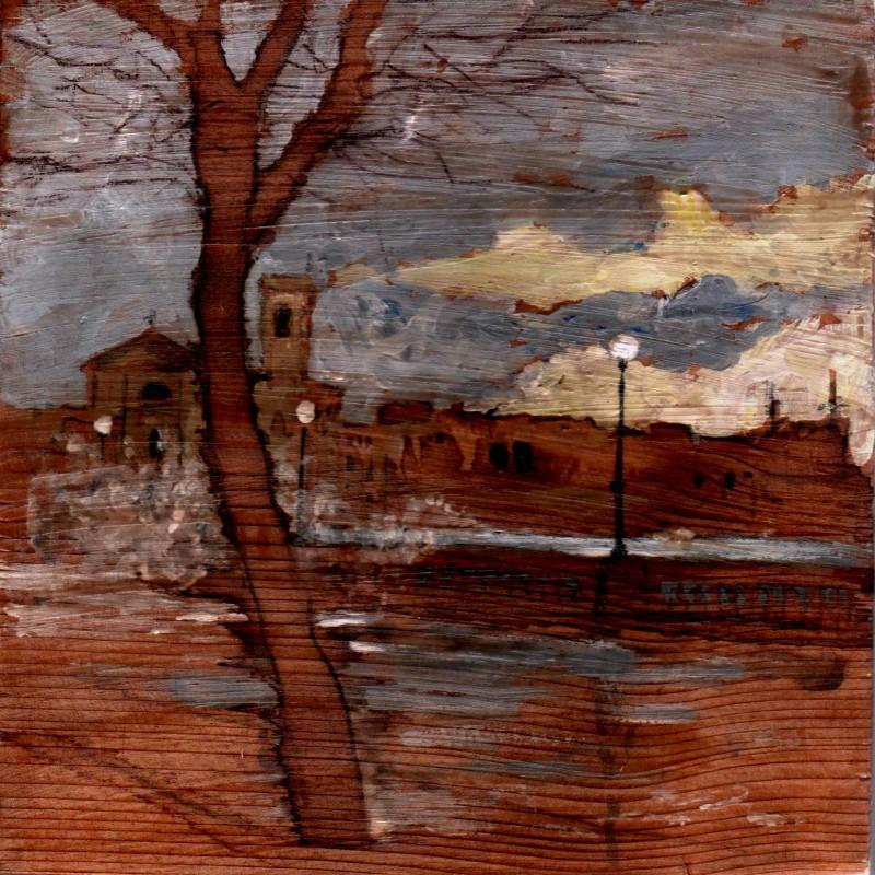S.Jacopo al libeccio, tempera su tavola cm. 17 x 17