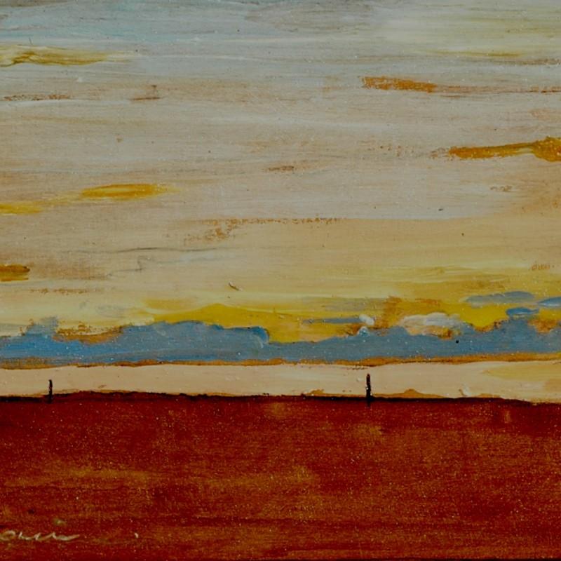 A domani tempera su tavola cm. 46 x 61