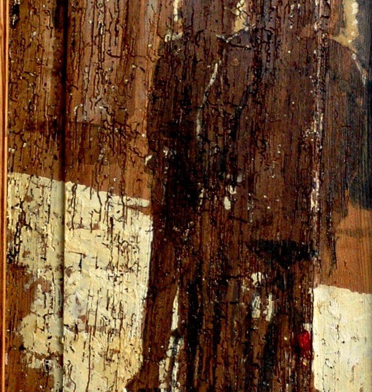 il tandem tempera su tavola cm. 97 x 43
