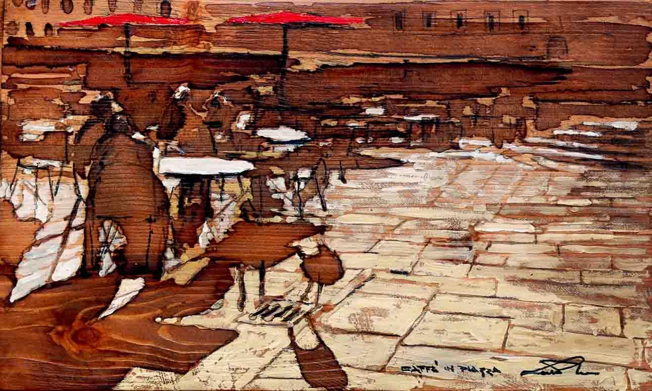 Caffè in piazza | Massimo Lomi